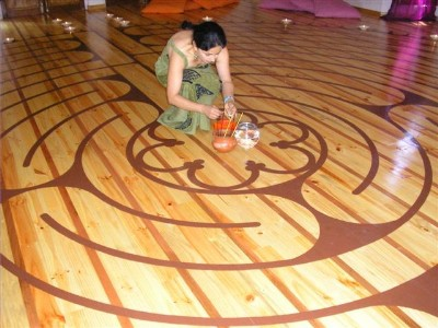 Labyrinth in Chile