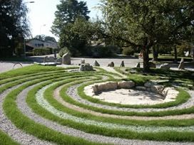 Labyrinth in Luterbach
